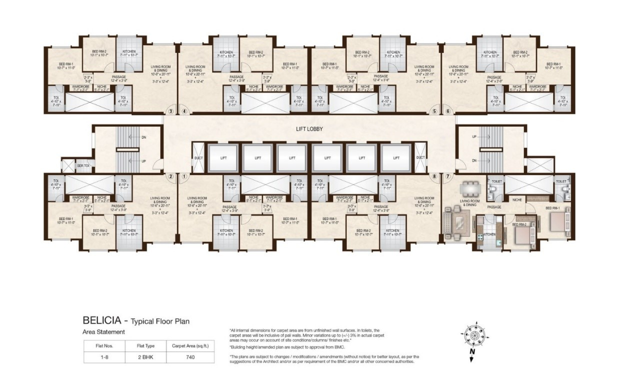 Hiranandani zen mumbai flatgradings opinion flatgradings for Floor plans by address