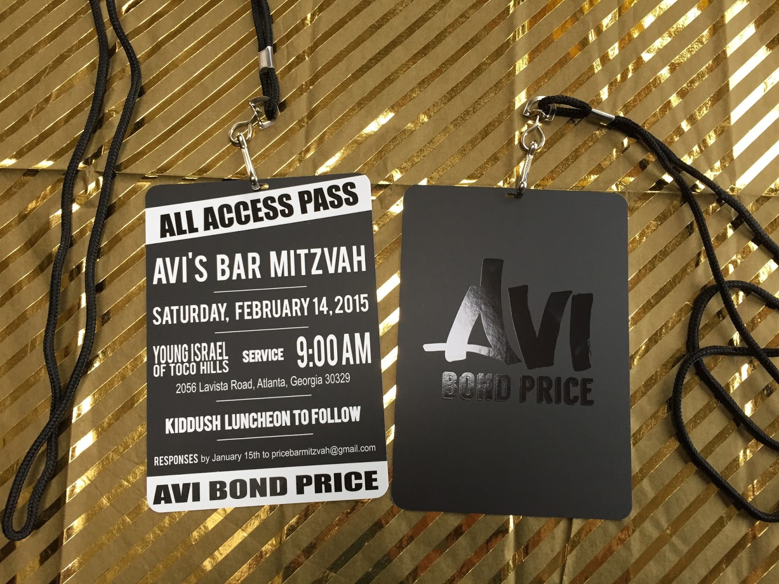 Sparkle and Ink: VIP style Bar Mitzvah Invitations - All Guests are ...