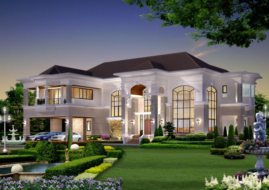 Royal homes designs. | Modern Home Designs