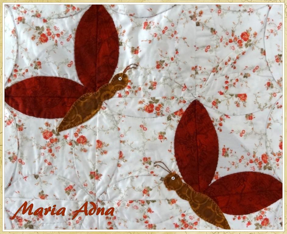 Bolsa - Tecido - Patchwork - Apliquê: Bolsa em tecido com patchwork e