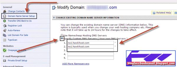 cara menambah domain baru ke hosting