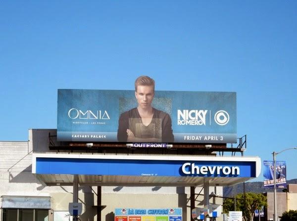 Omnia nightclub Nicky Romero billboard