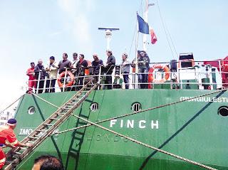 kapal+mv+finch GAMBAR KAPAL MV FINCH(MALAYSIA) DISERANG ISRAEL|KESEMUA PENUMPANG SELAMAT