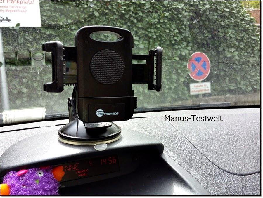 Smartphonehalterung fürs Auto
