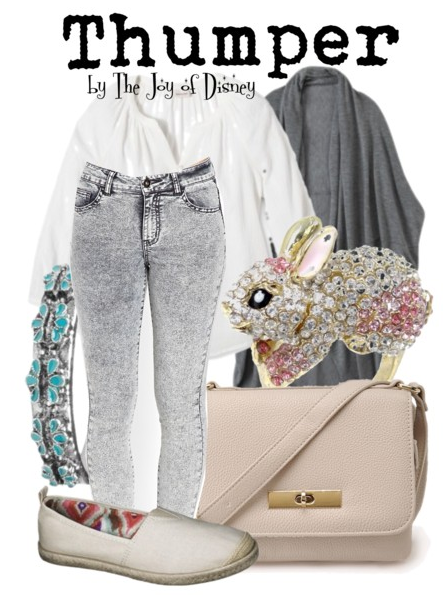 Bambi Thumper, Disney Fashion