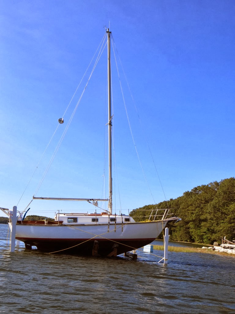 hauling out and back in time sailfeed