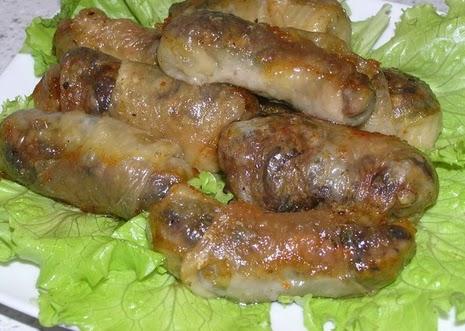 Фаршированные куриные шейки фото рецепт
