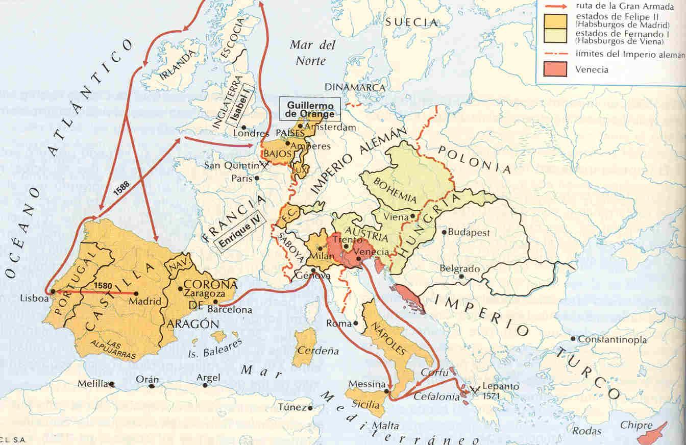 Historia espa a ies venancio blanco mapas pol tica for Politica exterior de espana