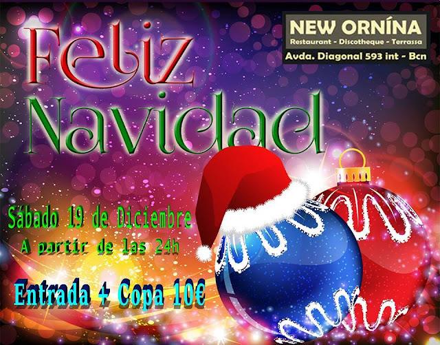 Flyer Fiesta Feliz Navidad