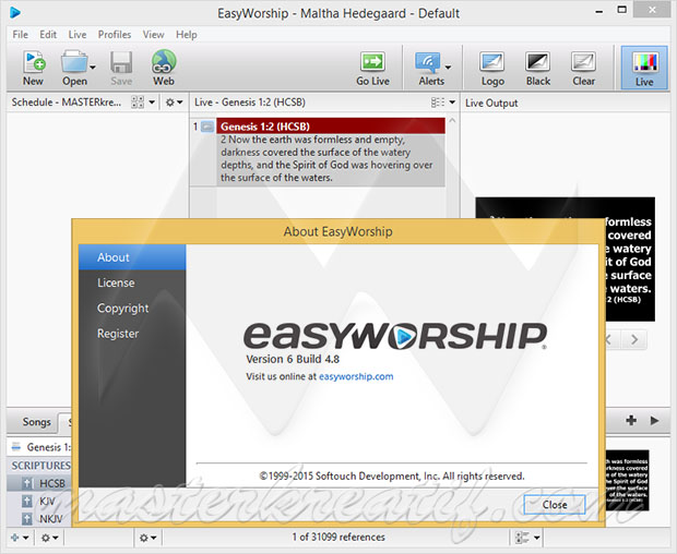 EasyWorship 6 Full Version - kuyhAaMe