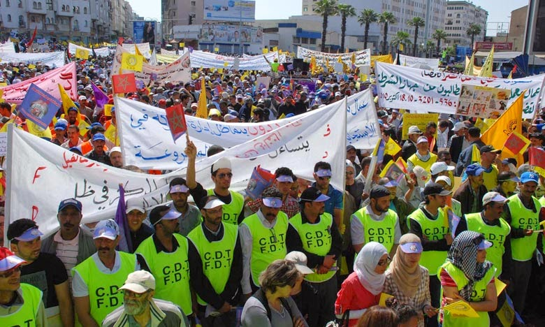morroco mayday protest
