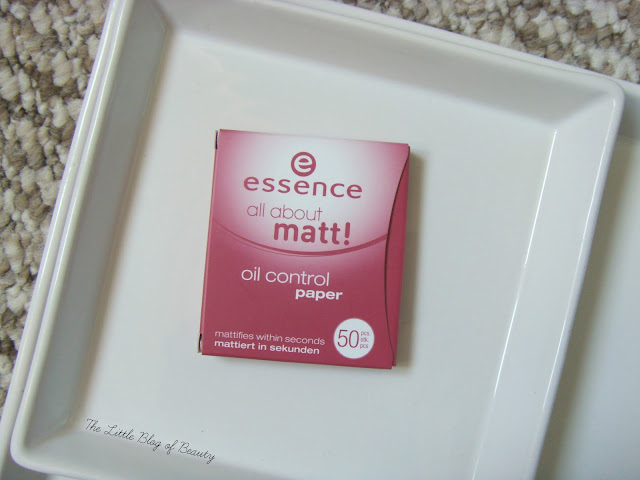 essence All about matte! Oil control paper