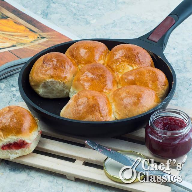 Homemade Bread Rolls Recipe