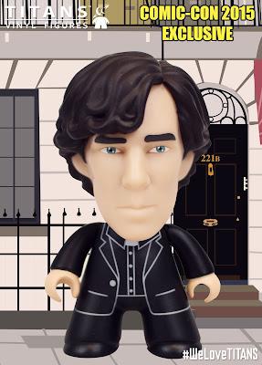 "San Diego Comic-Con 2015 Exclusive Sherlock ""Priest"" Variant Titans Mini Figure by Titan Merchandise & Matt JOnes"