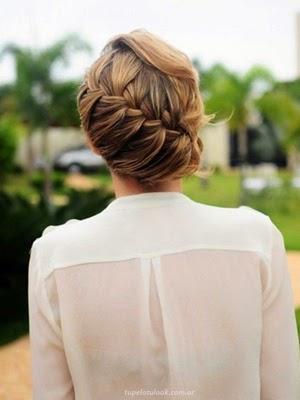 peinados con trenzas 2014_