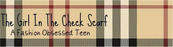 The Girl In The Check Scarf