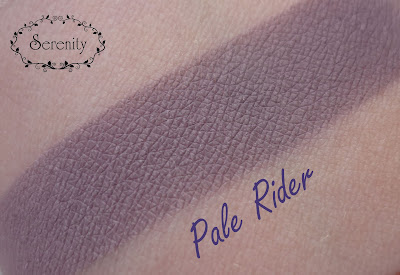Notoriously Morbid Pale Rider Swatch