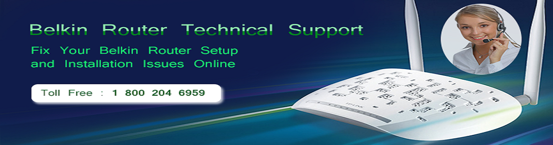Belkin Router Technical Support Number 18002046959