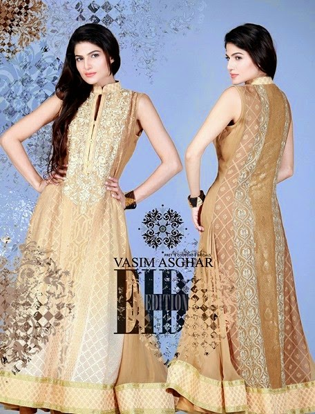 Vasim Asghar - Formal Embroidered Dresses for Eid-14