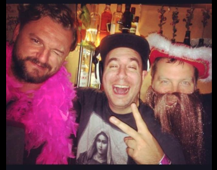 Solomun Justin Martin & Claude VonStroke after Stereosonic