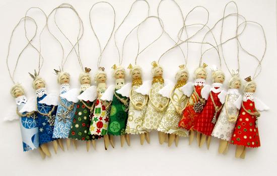 Christmas Ornaments, Рождественские ангелы