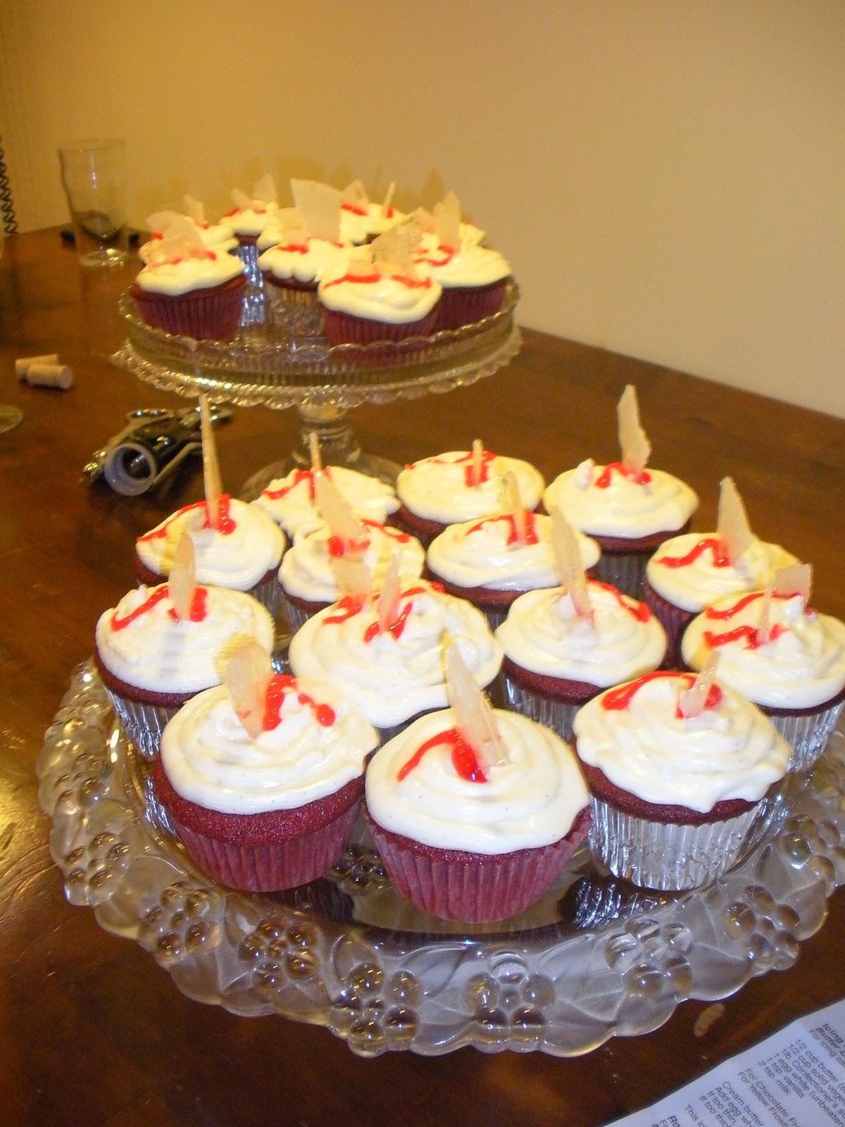 Craft A Spell Red Velvet Cupcakes