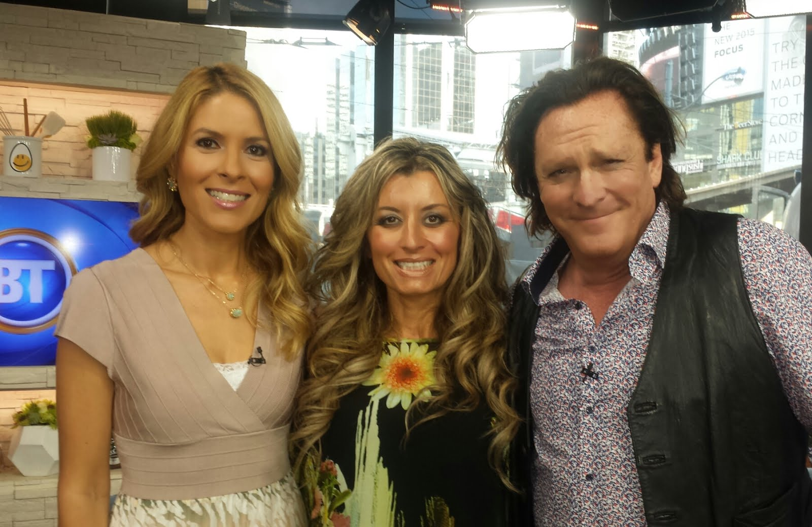 Dina Pugliese (BT Toronto) and actor Michael Madsen