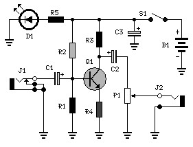 Simple Audio Booster circuit