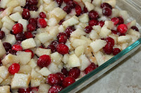 Pear Apple Cranberry Crisp