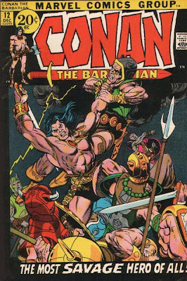 Conan the Barbarian #12, Gil Kane cover