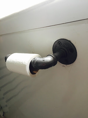 pipe toilet paper holder DIY, Pipe towel rack DIY