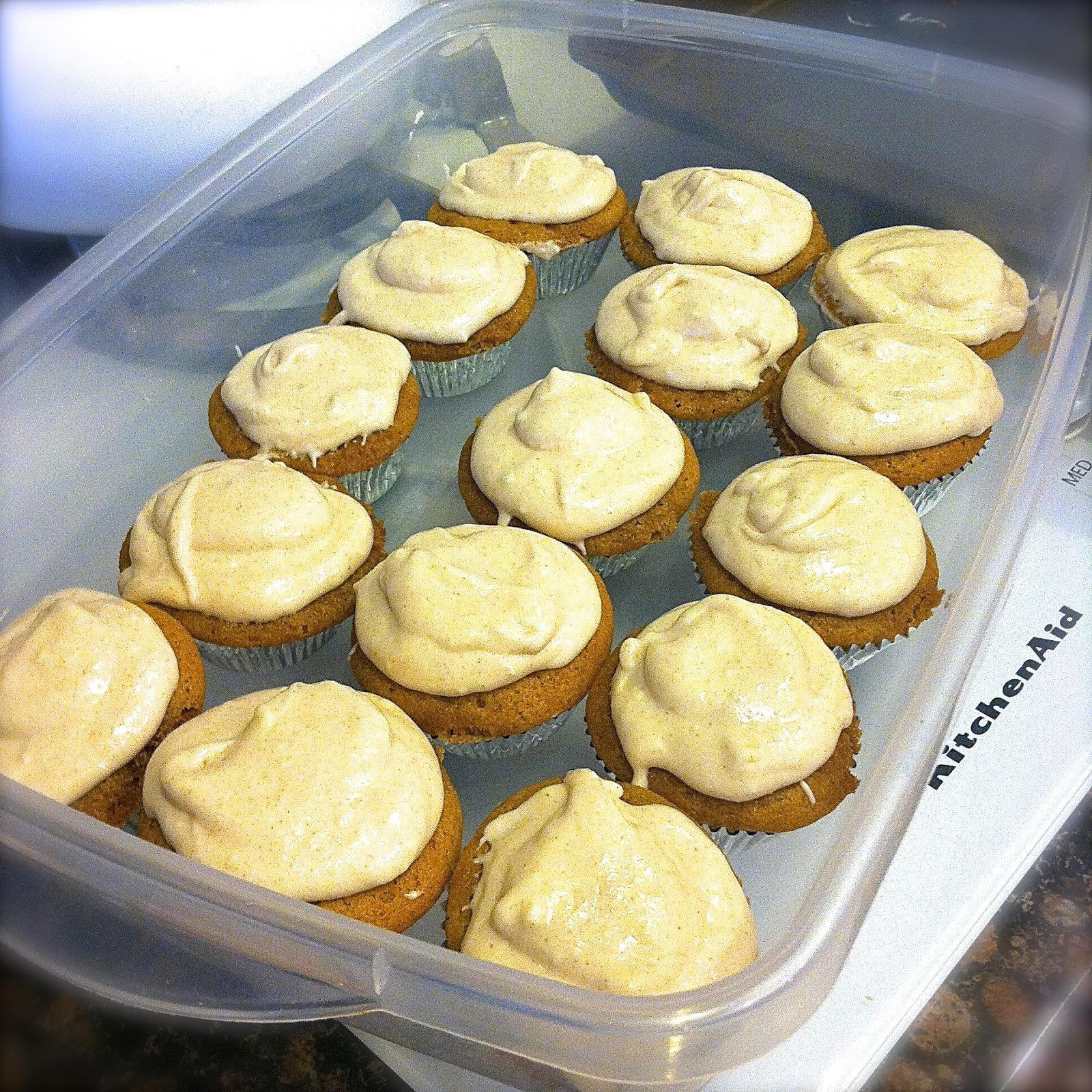 ... : Carrot Cake Cupcakes with Cinnamon Cream Cheese Frosting