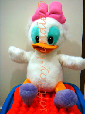 item p424# DAISY DUCK PLUSH (L) brand : DISNEY SOLD