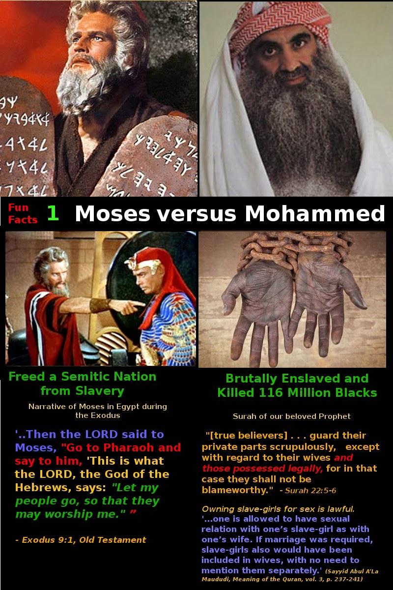 jesus vs moses More at: wwwoneforisraelorg/messiah.