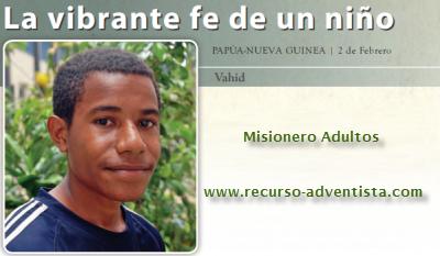 Informe Misionero ADULTOS 5, Sábado 2 de Febrero de 2013