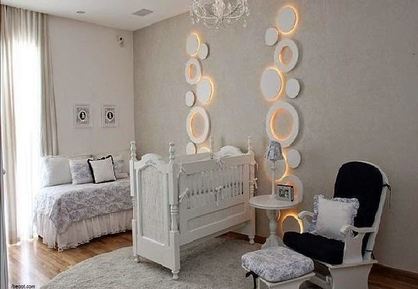 D co int rieur chambre b b fille b b et d coration for Photo de chambre de bebe fille
