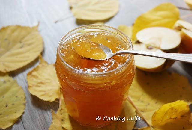 cooking julia confiture de pommes au caramel de. Black Bedroom Furniture Sets. Home Design Ideas