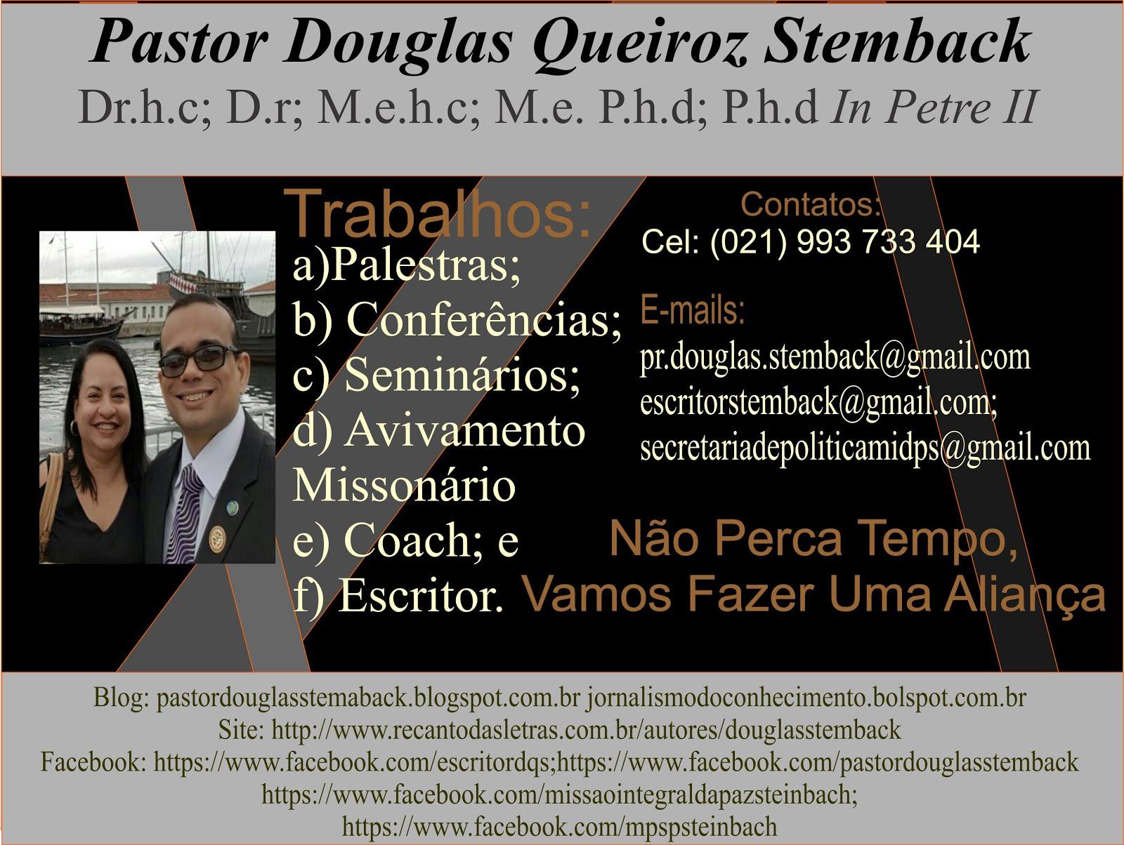 Pastor Douglas Stemback
