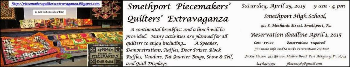 Smethport Piecemakers Extravaganza