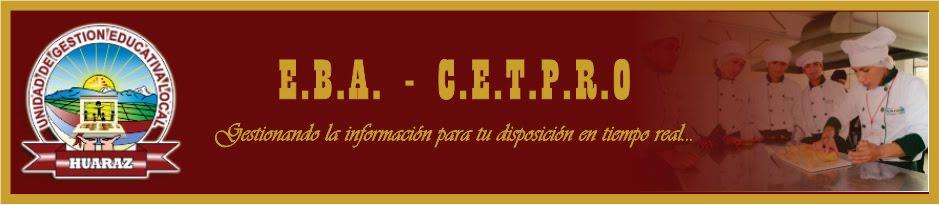 EBA -  CETPRO