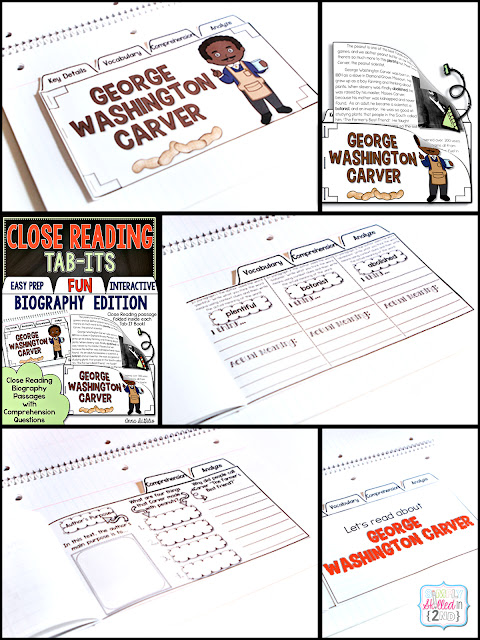 nonfiction close reading