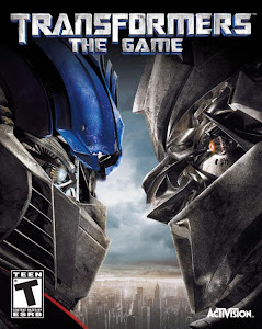 Transformers- The Game (2007) Pc Game Cover