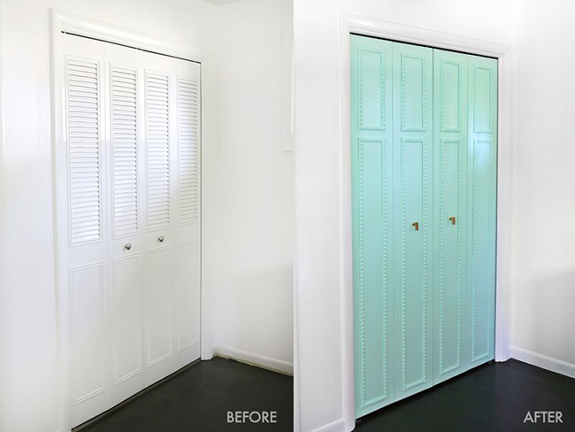 Armario de obra for Restaurar puertas de interior