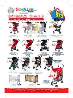 Stroller World Mega Sale 2012