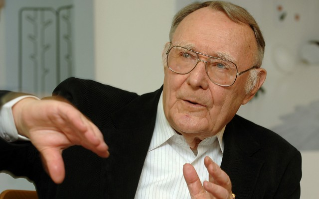 14 Billionaires Who Built Their Fortunes From Scratch - INGVAR KAMPRAD