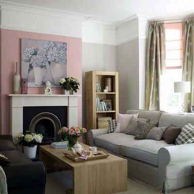 consigli per la casa e l' arredamento: imbiancare soggiorno ... - Soggiorno Bianco E Rosa