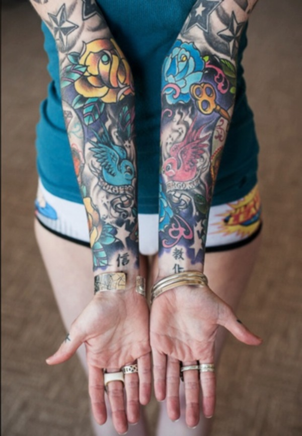 Full Sleeve Tattoo Design To Try This Year - Fashion Hippoo