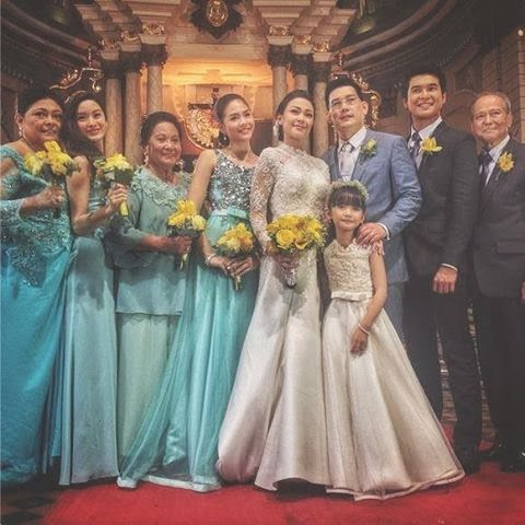 ... some of the photos taken from the wedding of Maya and Sir Chief