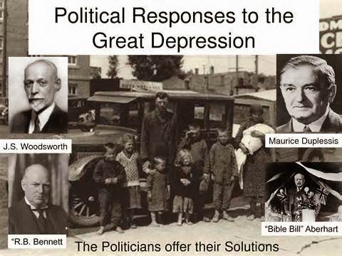 great depression canada 2 Given the importance of the great depression, economists do not completely agree on what caused it many countries, including canada, were caught in the great depression.