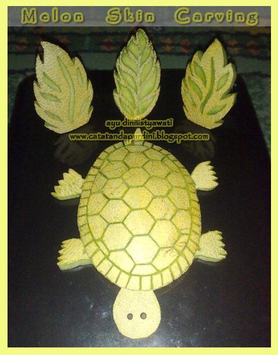 Tatandapurdini spot melon skin carving